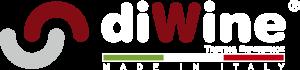 logo DIWINE scritte bianche